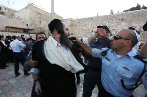 Haredi-contre-police