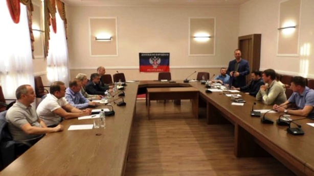 Trilateral meeting in Donetsk