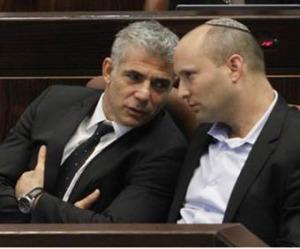 Yair Lapid et Naftali Bennett