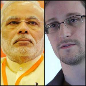 Narendra Modi: Snowden