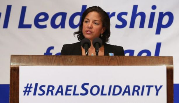 Susan Rice au National Leadership Assembly for Israël. hier, le 28, 2014.
