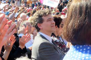 Nice, meeting pour l'élection présidentielle, 28 mars 2012