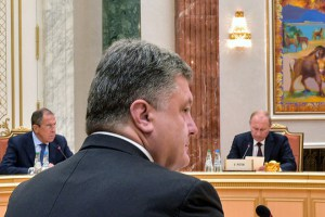 Heads of States of the Customs Union and representatives of the European Commission attend their summit in Minsk