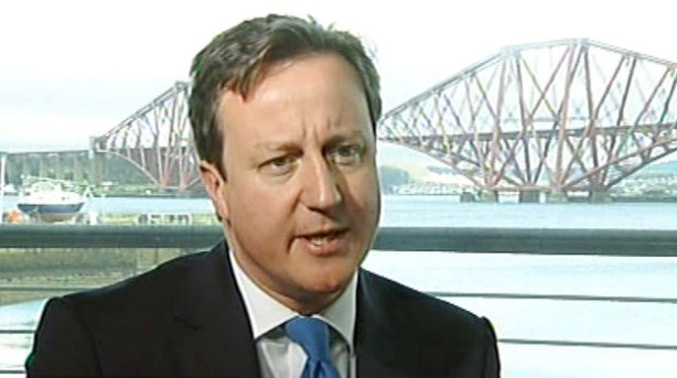 Cameron won't be back in Scotland any day soon