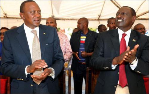 Uhuru Kenyatta et  William Ruto