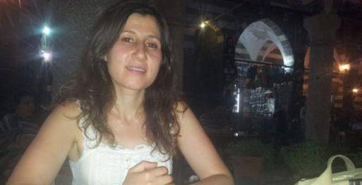 Kader Ortakaya, 28 ans, assasinée d'une balle dans la tête par les gendarmes turcs à la frontière avec Kobanê
