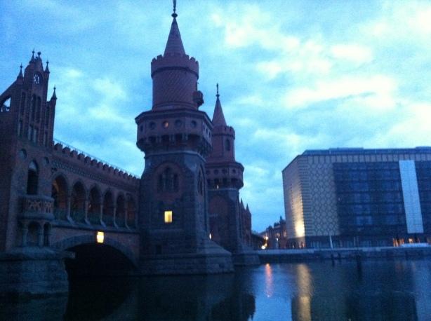 Dawn at the Oberbaumbrücke