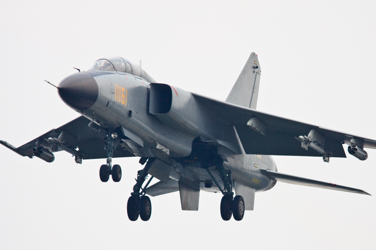 China's JH-7 fighter-bomber modified for South China Sea conflict