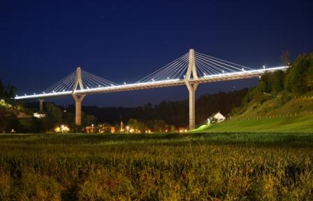 Poya : Pont de la Poya - Etat de Fribourg