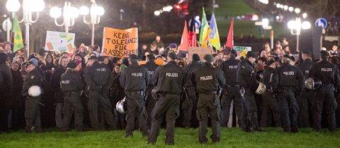 Manifestation contre le racisme à Bonn