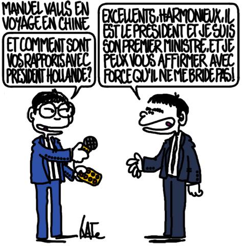 Manuel Valls en Chine