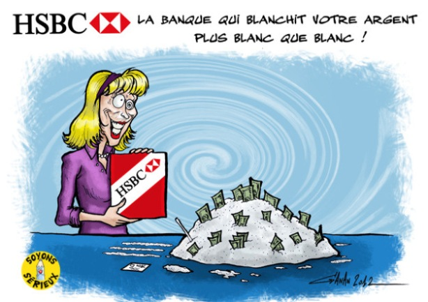 caricature-hsbc-drogue