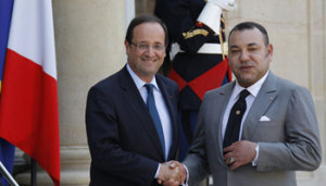 HOLLANDE MOHAMED VI RECONCILIATION
