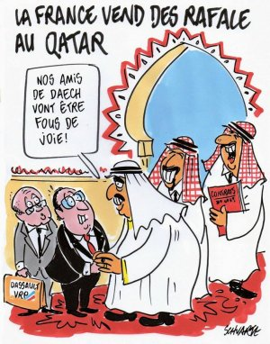 France rafale qatar daesh