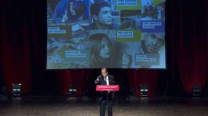 Des meetings de la primaire, comme celui de Clichy-la-Garenne, le 27 avril 2011, auraient dû être intégrés dans les calculs.Afp Photo/Jacques Demarthon